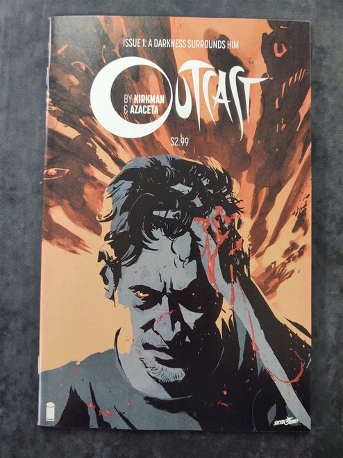 Outcast #1 Image Comics Comic Book