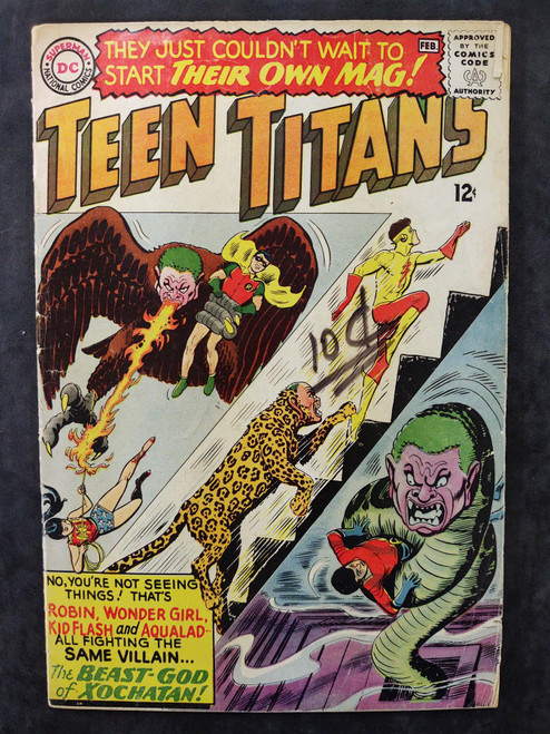 Teen Titans #1 DC Comics Comic Book 1966
