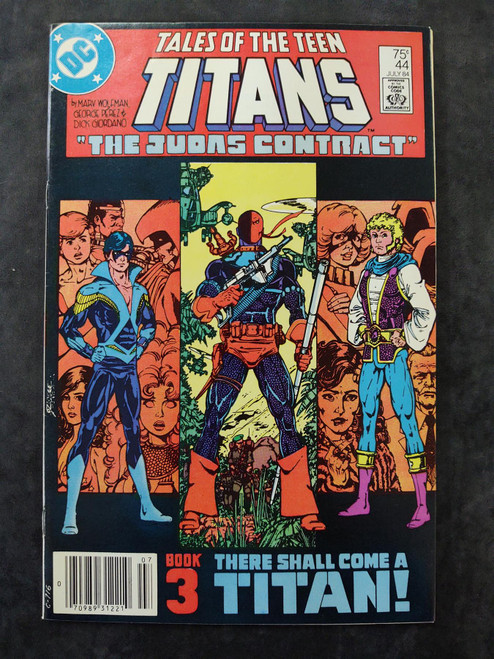Tales of the Teen Titans #44 DC Comics Comic Book 1984