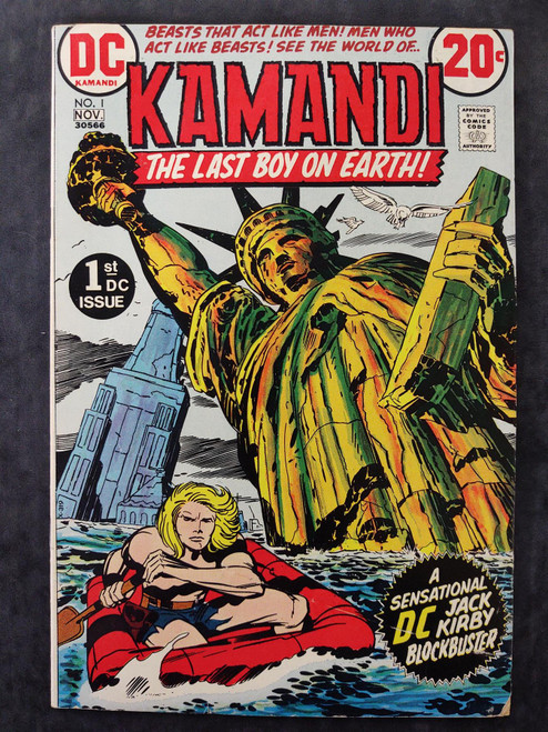 Kamandi #1 DC Comics Comic Book 1972