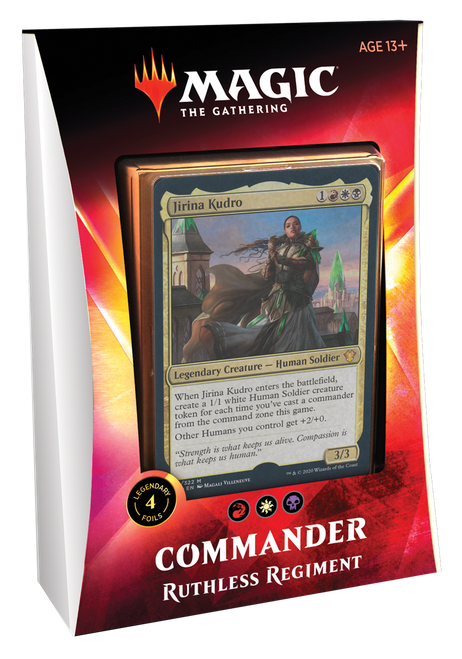 MTG Ikoria Lair of Behemoths Commander Deck Ruthless Regiment
