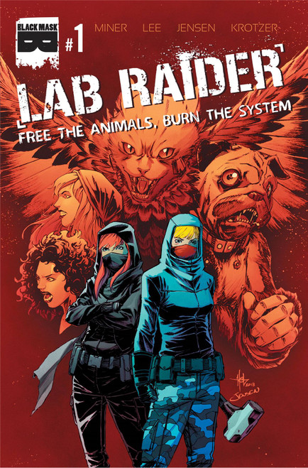 Lab Raider #1 () Black Mask Comics Comic Book