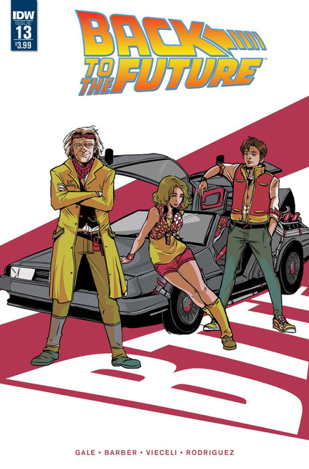 Back To The Future #13 () Idw Publishing Comic Book