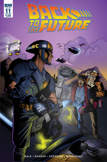 Back To The Future #11 () Idw Publishing Comic Book