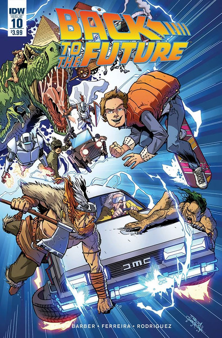 Back To The Future #10 () Idw Publishing Comic Book