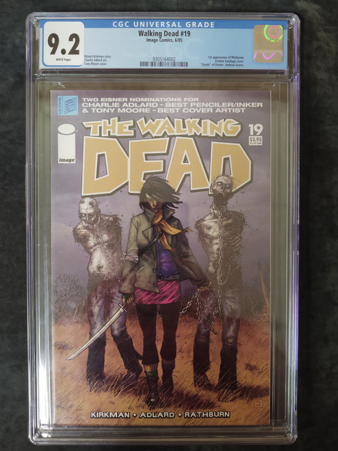 Walking Dead #19 First Michone by Image Comics CGC 9.2