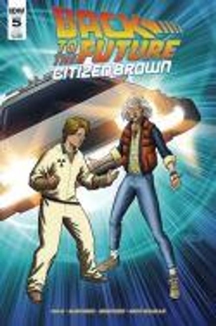 Back To The Future Citizen Brown #5 (Subscription Var) Idw Publishing Comic Book