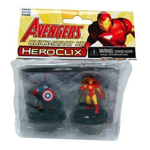 Fcbd 2015 Marvel Heroclix Avengers Quick Start Kit