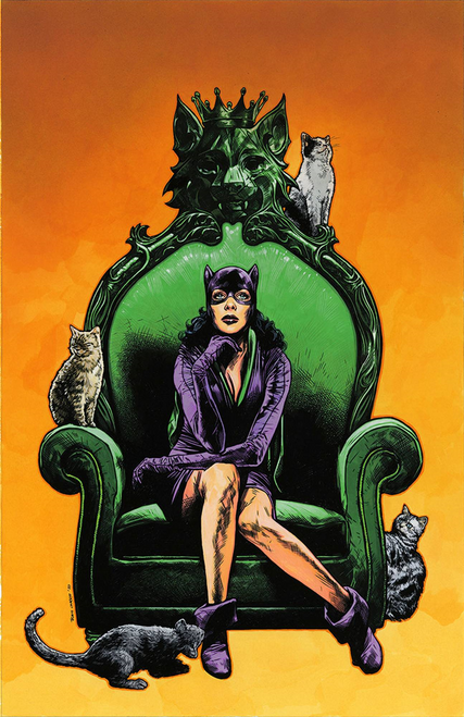 Catwoman 80th Anniv 100 Page Super Spect #1 1950s Travis Cha (1950s Travis Charest Var Ed) DC Comics Comic Book 2020