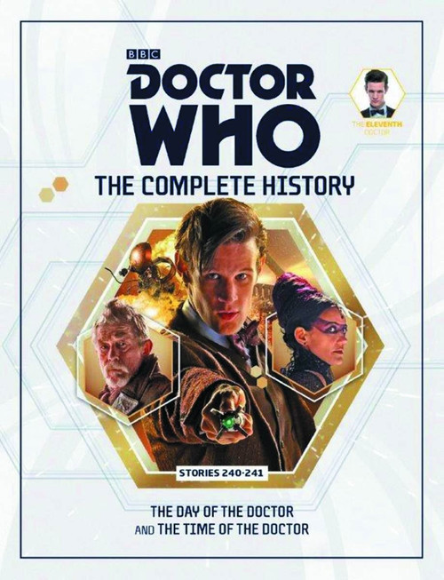 Doctor Who 11th Doctor Complete History Hardcover Book Issue 10 Stories 240-241