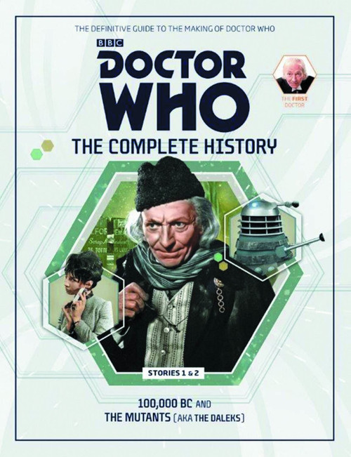 Doctor Who 1st Doctor Complete History Hardcover Book Issue 4 Stories 1&2