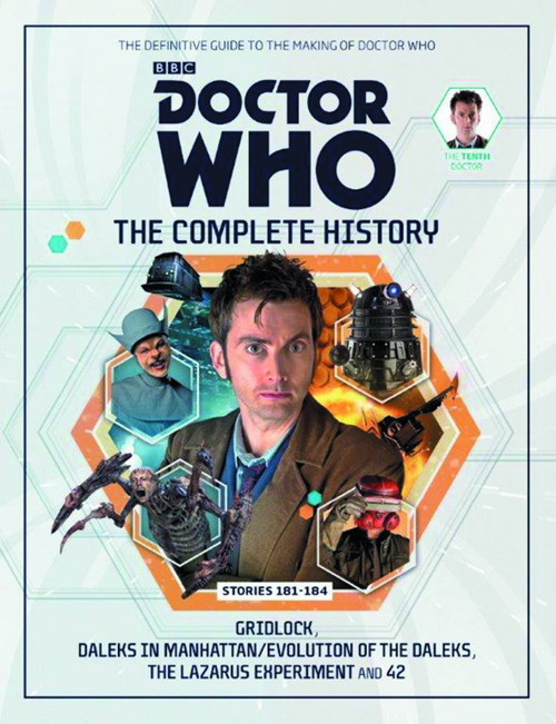 Doctor Who 10th Doctor Complete History Hardcover Book Issue 1 Stories 181-184
