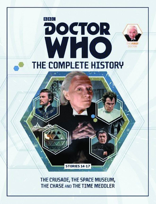 Doctor Who 1st Doctor Complete History Hardcover Book Issue 11 Stories 14-17