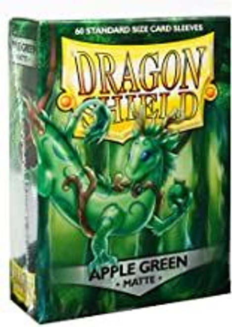 60ct Dragon Shield Sleeves - Standard - Green