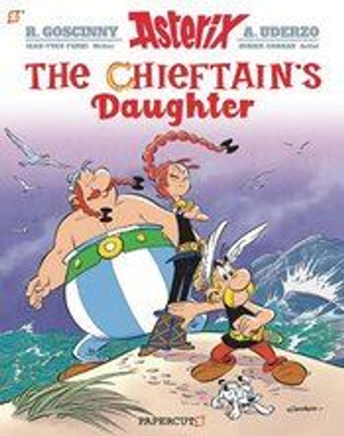Asterix Papercutz Ed Gn Vol 38 Chieftains Daughter