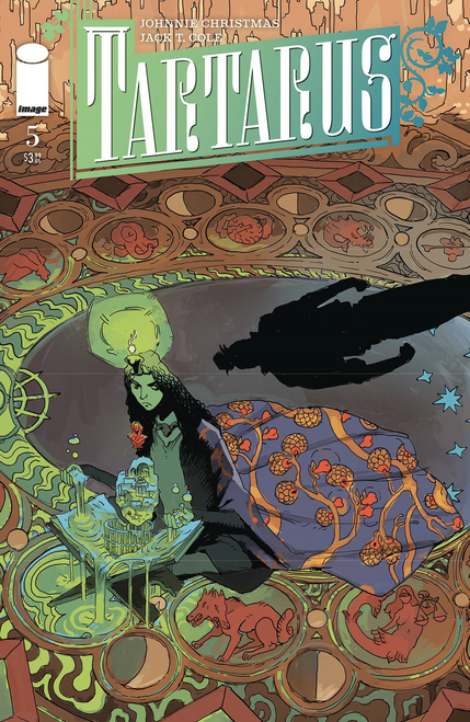 Tartarus #5 (Cvr A Cole) Image Comics Comic Book 2020