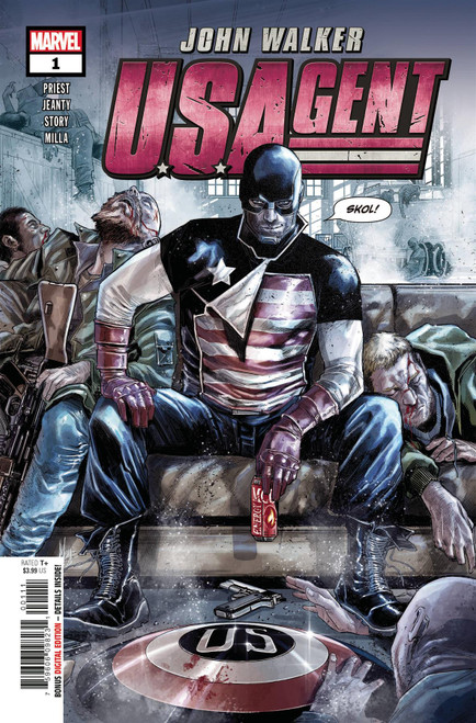 U.s.agent #1 () Marvel Comics Comic Book 2020