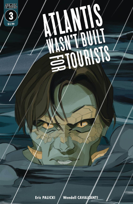 Atlantis Wasn`t Built For Tourists #3 () Scout Comics Comic Book 2020