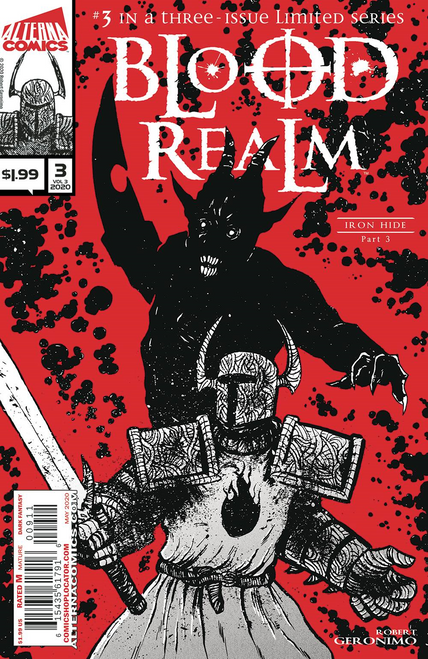 Blood Realm Vol 3 #3 () Alterna Comics Comic Book 2020