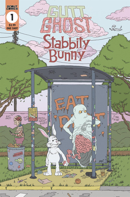 Gutt Ghost Stabbity Bunny One Shot () Scout Comics Comic Book 2020