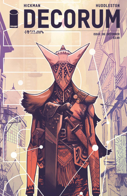 Decorum #6 Cvr B Huddleston (Cvr B Huddleston) Image Comics Comic Book 2020