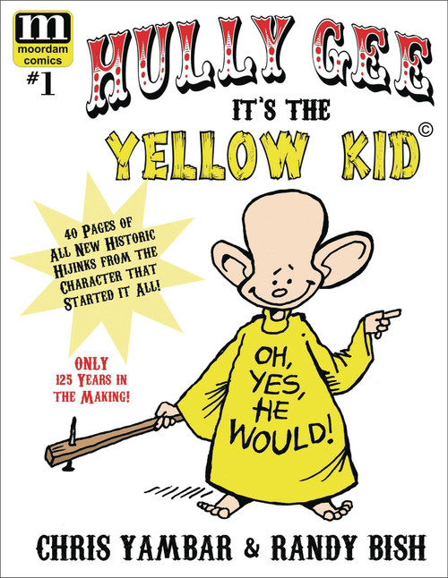 Hully Gee Its The Yellow Kid #1 () Moordam Comics Comic Book 2020