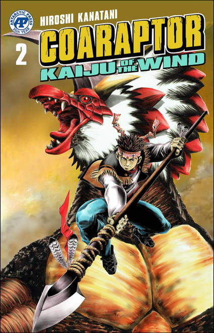 Coaraptor One Shot #2 Kaiju Of The Wind Antarctic Press Comic Book