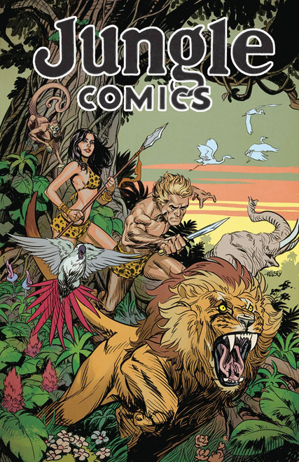 Jungle Comics #1 Main Cvr (Main Cvr) Antarctic Press Comic Book