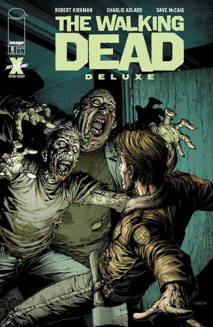 Walking Dead Dlx #8 Cvr A Finch & Mccaig (mr) Image Comics Comic Book