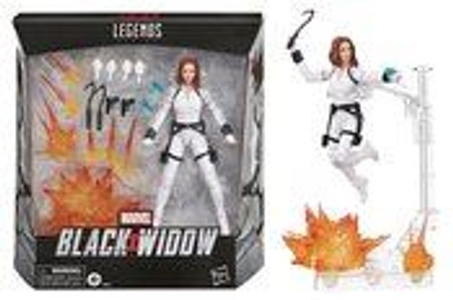 "Black Widow Legends 6"" Dlx Action Figure"