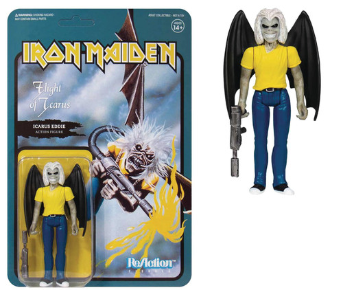 Iron Maiden Flight Of Icarus Eddie Reaction Figure (net) (c: