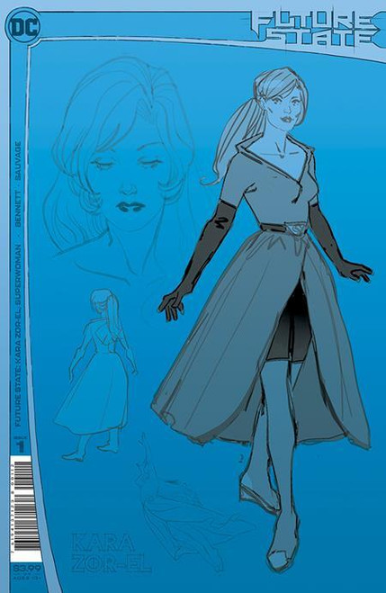 Future State Kara Zor-el Superwoman #1 Second Printing DC Comics Comic Book