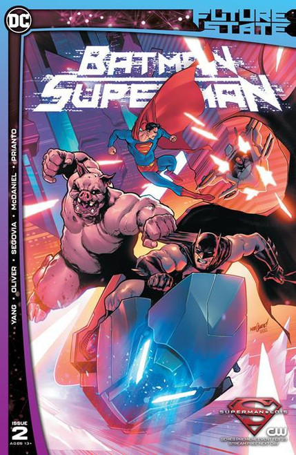 Future State Batman Superman #2 (of 2) Cvr A David Marquez DC Comics Comic Book