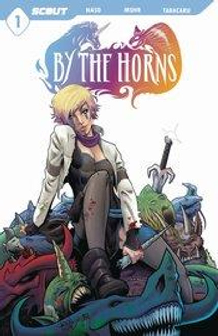 By The Horns #1 (of 6) Cvr A Muhr (mr) Scout Comics Comic Book