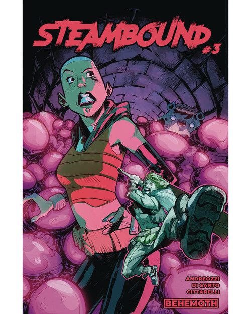 Steambound #3 (mr) Behemoth Comics Comic Book