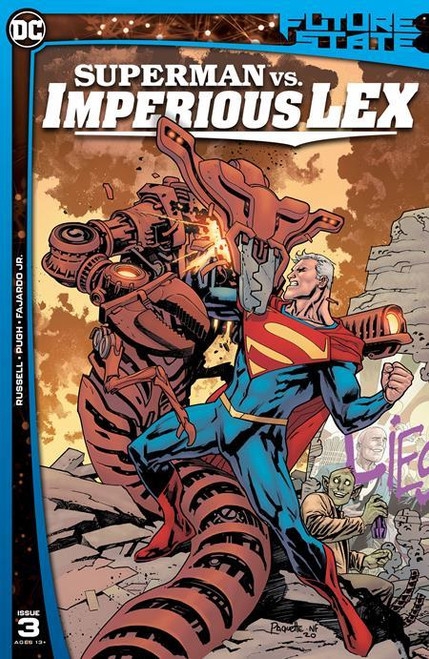 Future State Superman Vs Imperious Lex #3 (of 3) Cvr A Yanick Paquette DC Comics Comic Book