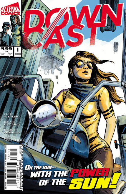 Downcast #1 Alterna Comics Comic Book