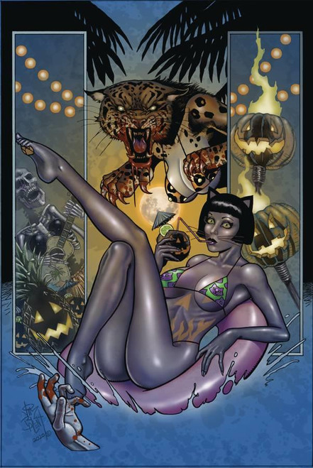 Tarot Witch Of The Black Rose #124 Alt Paths Boo Cat (Alt Paths Boo Cat) Broadsword Comics Comic Book 2020
