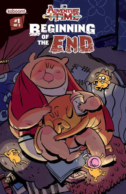 Adventure Time Beginning Of End #1 Subscription Daguna Var (Subscription Daguna Var) Boom! Studios Comic Book