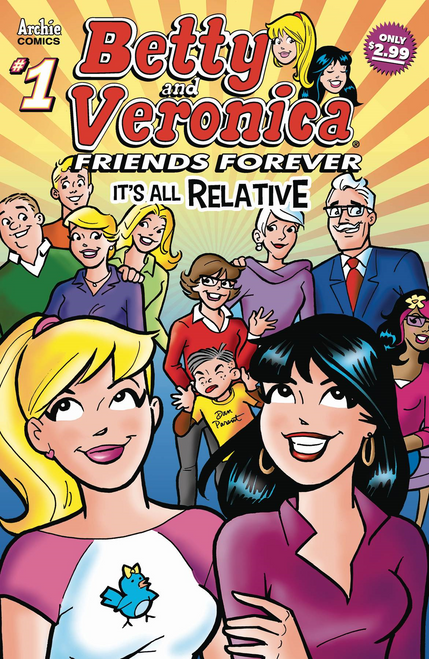 Betty & Veronica Friends Forever All Relative #1 (All Relative #1) Archie Comic Publications Comic Book