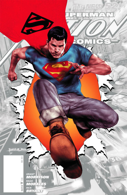 Action Comics #0 DCComics Comic Book