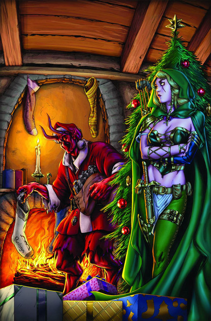 Gft 2013 Holiday Special B Cvr Cummings Zenescope Comics Comic Book