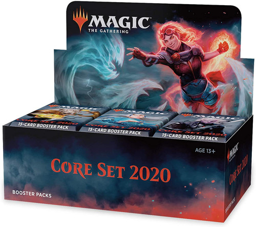 MTG Core 2020 Boostbox  36 Packs w/ 15 Cards