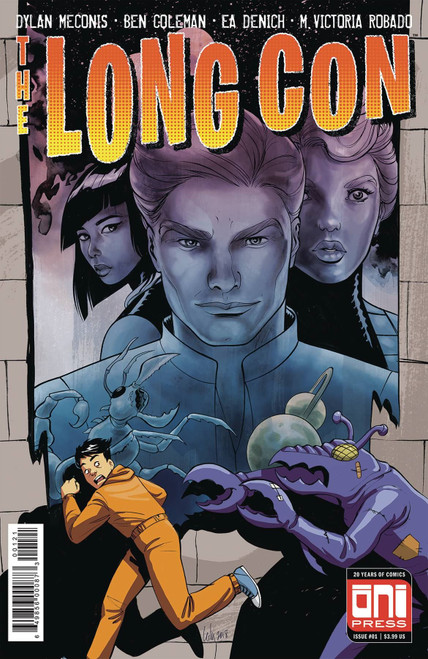 Long Con #1 (Cvr B Del Duca Var) Oni Press Inc. Comic Book