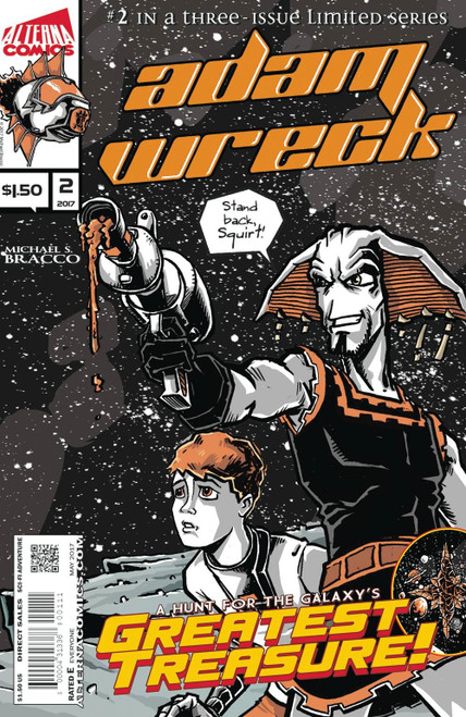 Adam Wreck #2 () Alterna Comics Comic Book