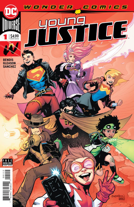 Young Justice #1 2ng Ptg DC Comics Comic Book