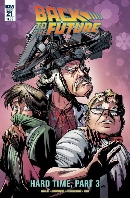 Back To The Future #21 Idw Publishing Comic Book