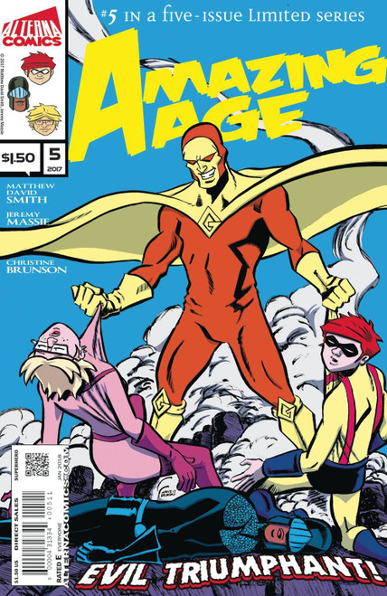 Amazing Age #5 Alterna Comics Comic Book