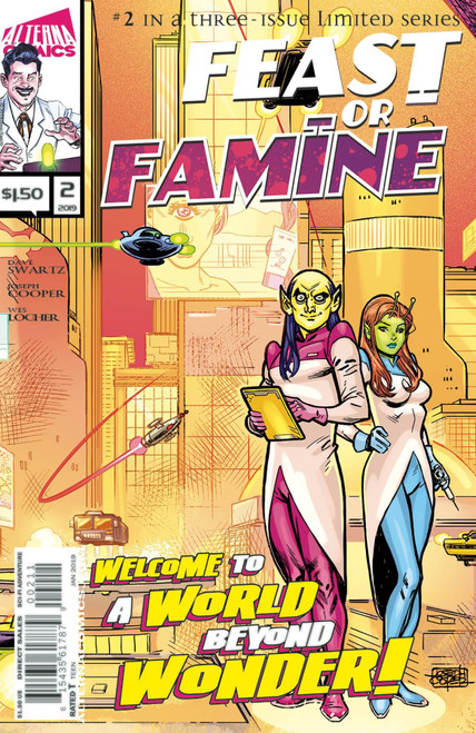Feast Or Famine #2 Alterna Comics Comic Book