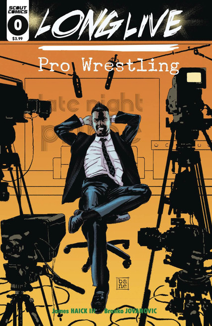 Long Live Pro Wrestling #0 Scout Comics Comic Book